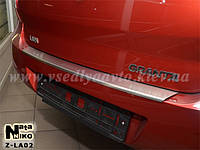 Накладка на бампер с загибом Lada Granta с 2010 г.