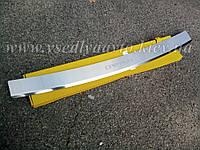 Накладка на бампер с загибом Chevrolet Captiva FL с 2013 г.