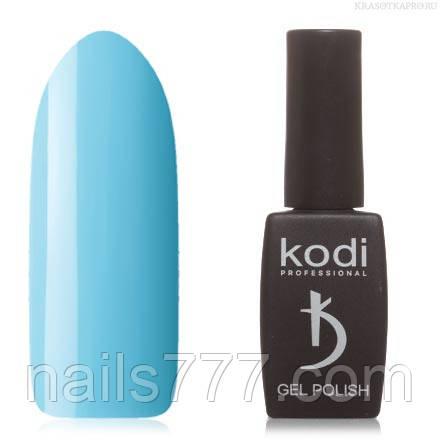Гель лак Kodi  №110B, пастельный голубой