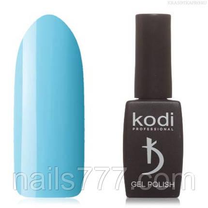 Гель лак Kodi  №110B, пастельный голубой, фото 2