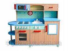 Кухня дитяча дерев'яна яна SKY BLUE (W10C040)
