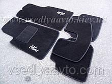Ворсовые коврики в салон FORD Sierra (Черные)