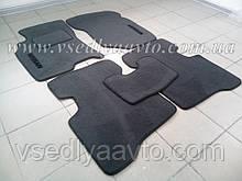Ворсовые коврики в салон NISSAN X-Trail с 2001-2007 гг. (Серые)