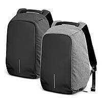 """Рюкзак Bobby bag 15"""" черный серый"""