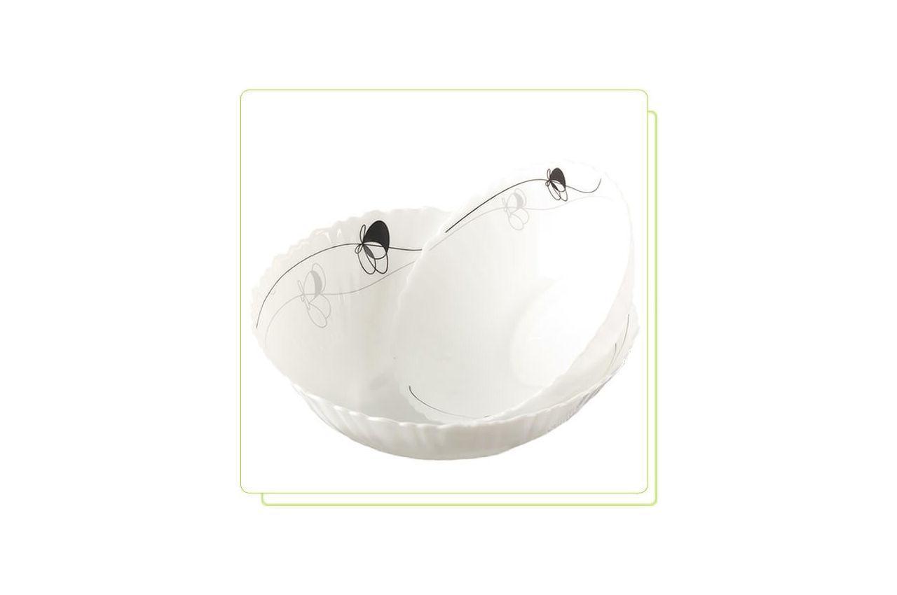 """Тарелка глубокая жар-стекло Maestro - 212 мм """"ноктюрн"""" MR-38561-11 6 шт."""
