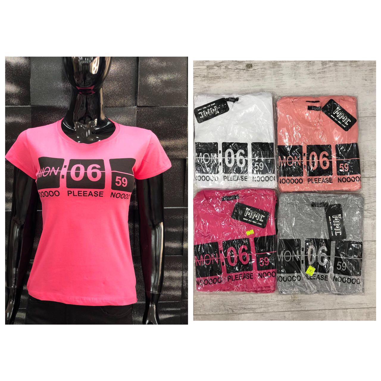 Футболка женская ММС. Ткань хлопок, размеры  S M L Xl. Супер вип классные футболочки Турция, качество 5+++