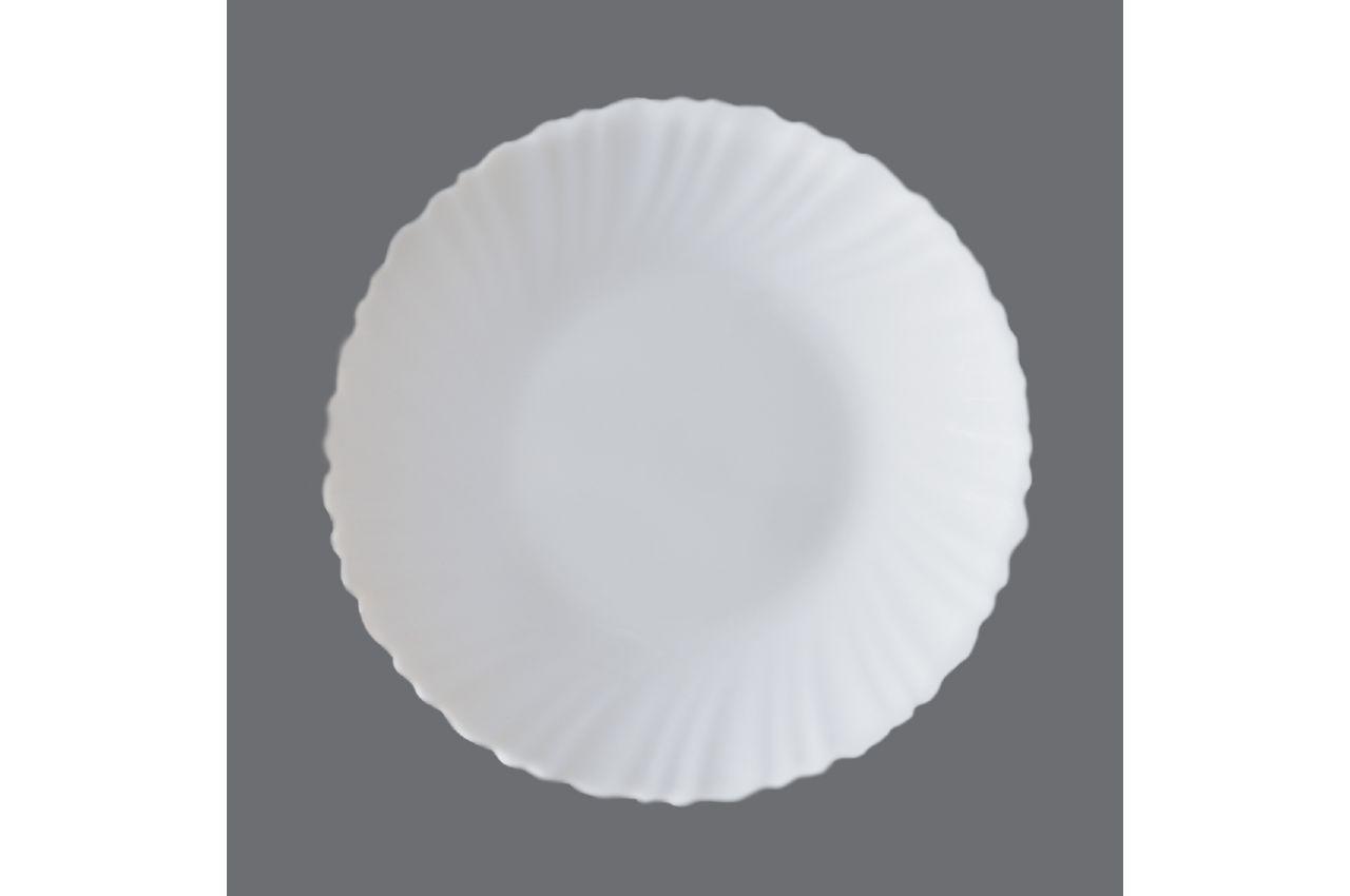 """Тарелка жар-стекло Maestro - 200 мм """"white"""" MR-30868-02 6 шт."""
