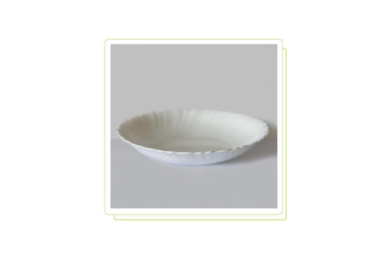 "Тарелка глубокая жар-стекло Maestro - 212 мм ""white"" MR-38586-11 6 шт."