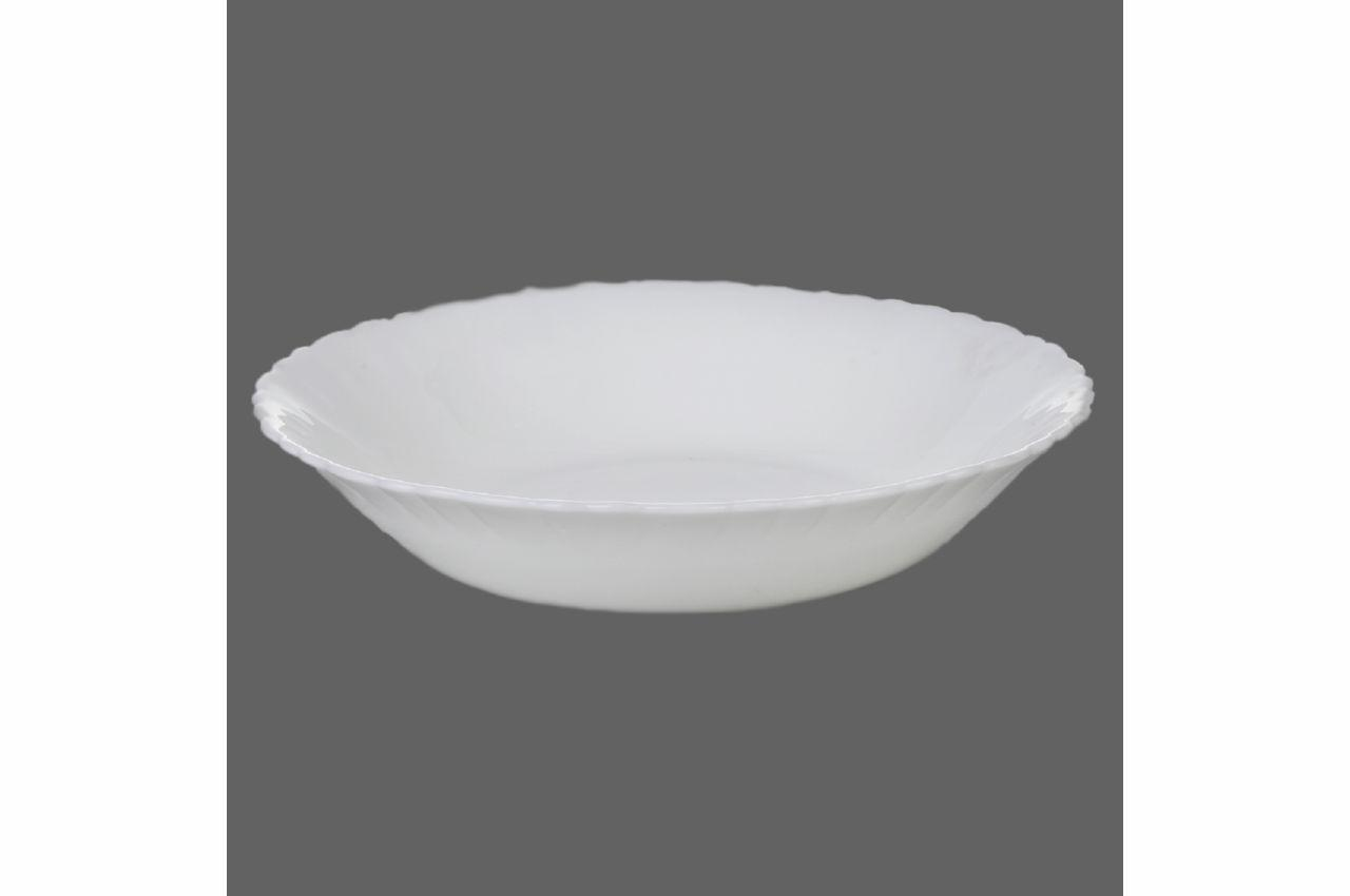 "Тарелка глубокая жар-стекло Maestro - 200 мм ""white-2"" MR-30771-11 6 шт."