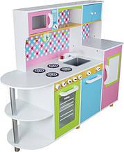 Дитяча ігрова дерев'яна яна кухня DALAS (W10C100)
