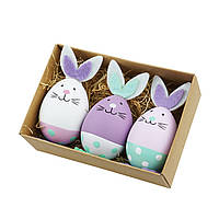 Декоративные Пасхальные яйца Пасхальный Кролик (набор), фото 1
