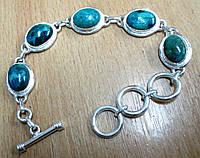 Элегантный  браслет с  хризоколлой  от студии  LadyStyle.Biz, фото 1