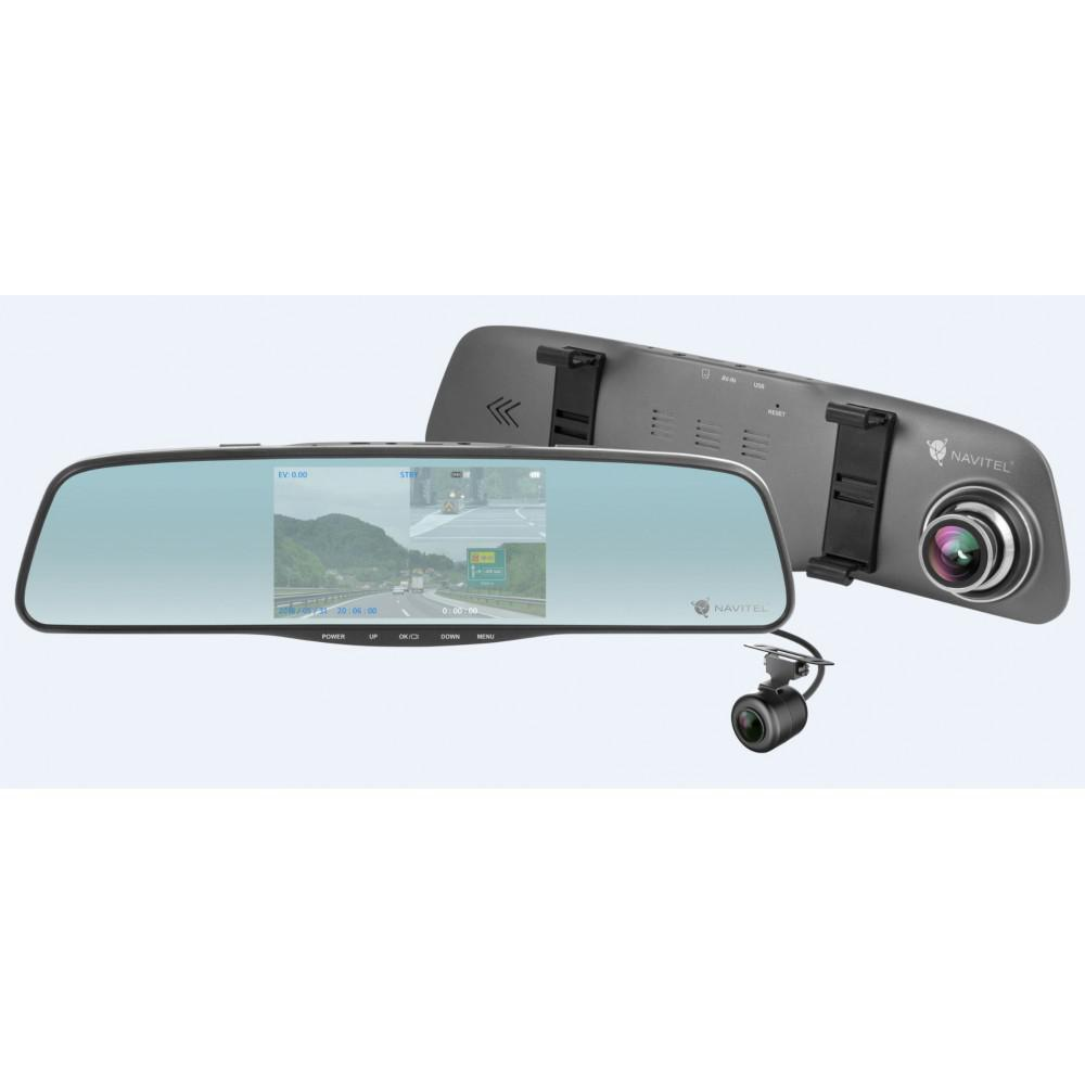 Зеркало-накладка заднего вида с регистратором NAVITEL MR250