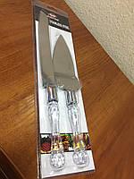 Набор нож и лопатка для торта в блистере