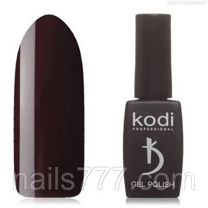 Гель лак Kodi  №100WN,темный фиолетово-бордовый, фото 2