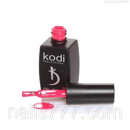 Гель лак Kodi  №120P,малиновый, фото 2