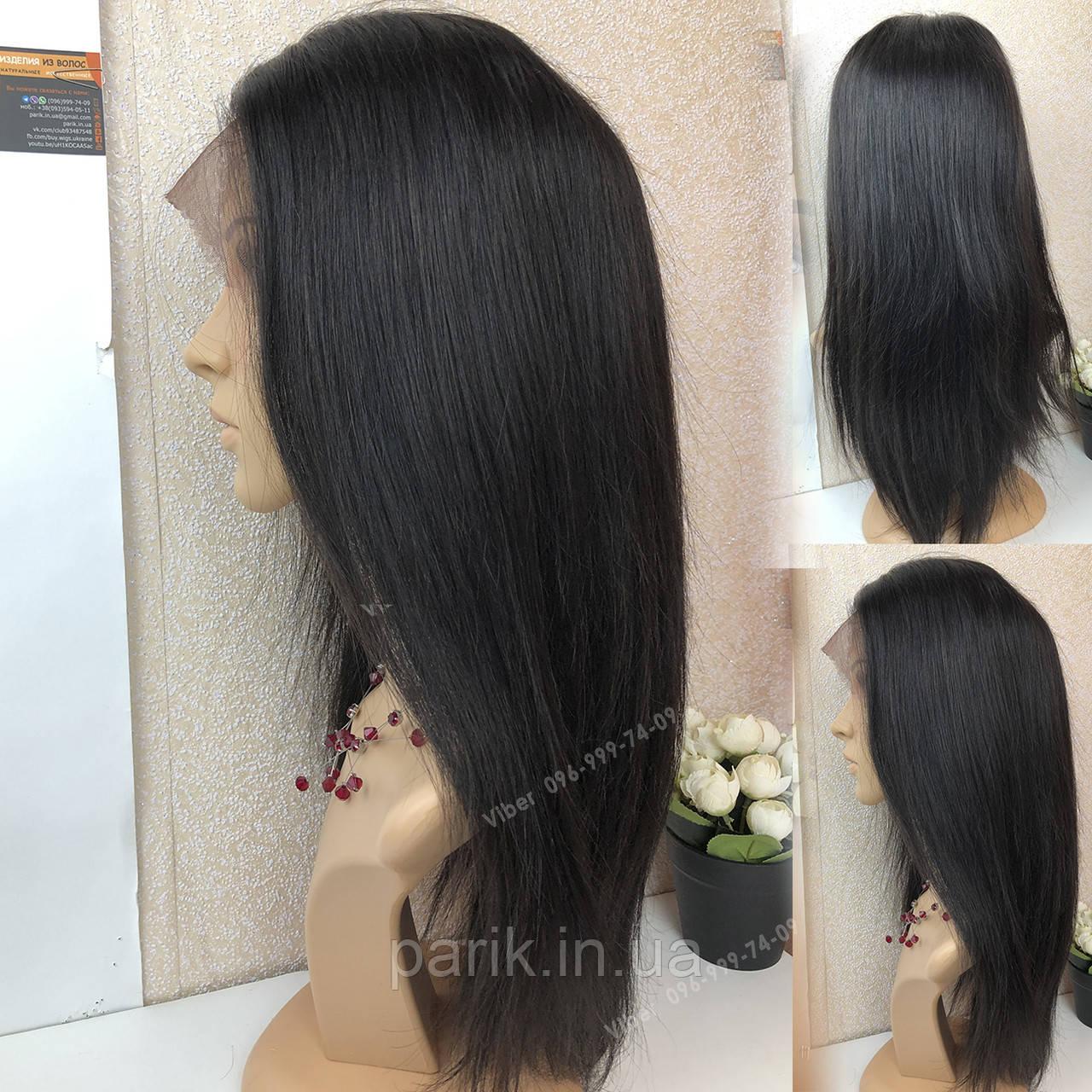 💎 Парик из натуральных волос женский, ровный волос 💎