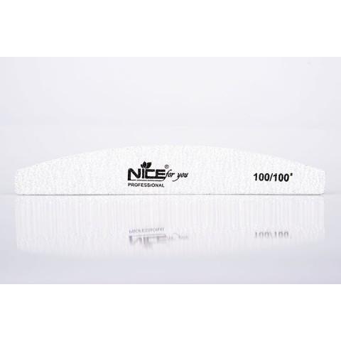 Пилка для ногтей Nice for You 100/100
