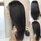 💎Натуральный парик 60 см., на сетке с имитацией кожи головы 💎, фото 9