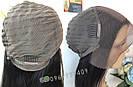💎Натуральный парик 60 см., на сетке с имитацией кожи головы 💎, фото 8