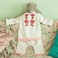 Вишитий костюм для хрестин (дівчинка), фото 1