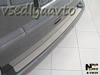 Накладки на бампер Volkswagen TRANSPORTER T5 с 2003- (NataNiko)