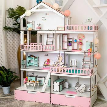 Кукольные домики, мебель, аксессуары