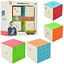 Набір головоломок кубиків рубіка 2*2 — 3*3 — 4*4 — 5*5 від Qiyi cube, фото 2