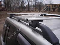 Багажники аэродинамические на рейлинги Hyundai Santa Fe с 2000-2006 г.