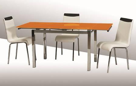 Стол ТВ 014 (без узора) (оранжевый), фото 2