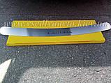 Накладка на бампер Renault LAGUNA III универсал с 2007 г. (NataNiko), фото 3