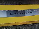 Накладка на бампер Renault LAGUNA III универсал с 2007 г. (NataNiko), фото 6