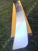 Накладка на бампер Skoda OCTAVIA III A7 с 2013 г. (NataNiko)