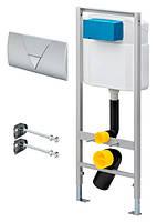 Система инсталляции 3 в 1 Viega Eco-WC 673192 для подвесного унитаза с кнопкой смыва