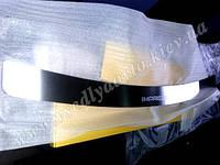 Накладка на бампер Subaru IMPREZA III с 2007- (NataNiko)