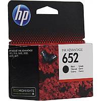 Картридж HP №652 (F6V25AE), Black, DJ Ink Advantage 1115/2135/ 3635/3835, OEM
