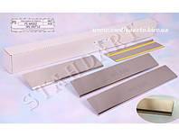 Защита порогов - накладки на пороги MG 550 с 2012 г. (Standart)