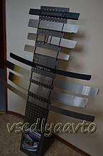 Накладка на бампер Seat IBIZA IV 3-дверка с 2009- (NataNiko)