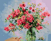 Картина по номерам Букет нежных роз (BK-GX26137) 40 х 50 см [Без коробки]