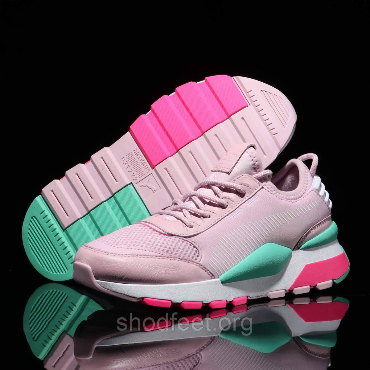 Женские кроссовки Puma Rs-0 Play Pink