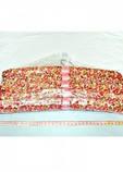 Набор объемных мягких вешалок для одежды сатин 38см.(набор 5 шт.), фото 6