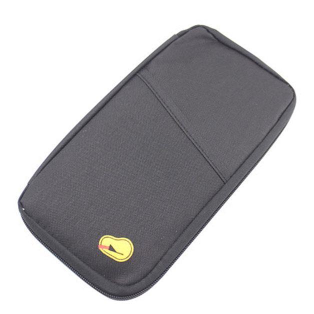 🔝 Дорожный органайзер-холдер для документов, цвет - черный, с доставкой по Киеву и Украине | 🎁%🚚