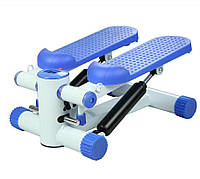 Степпер  тренажер ножной  Синего цвета  лучший степпер для дома