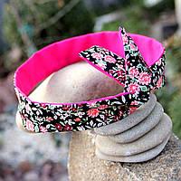 Двусторонняя повязка с цветочным принтом, фото 1