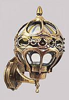 Фонарь уличный настенный (32х18х20 см.) Золото состаренное YR-716-a/n