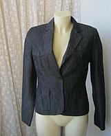 Жакет женский пиджак джинс джинсовая бренд Etam р.44