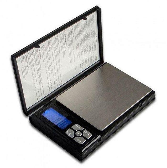 Ювелирные весы  в виде блокнота до 500г (шаг 0,01)