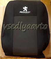 Авточехлы PEUGEOT Partner 1+1 с 2008 г.