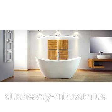 Ванна VIYA ретро 160х70 з сифоном клик-клак