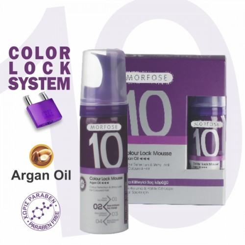Мусс для волос Color Lock Mousse Morfose 10